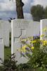 Headstone of Lieutenant Norman Leslie Forsyth (6/3319). Wulverghem-Lindenhoek Road Military Cemetery, Heuvelland, West-Vlaanderen, Belgium. New Zealand War Graves Trust (BEEW8572). CC BY-NC-ND 4.0.