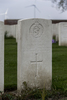 Headstone of Captain Horace Dorset Eccles . New Irish Farm Cemetery, Ieper, West-Vlaanderen, Belgium. New Zealand War Graves Trust (BECY9621). CC BY-NC-ND 4.0.
