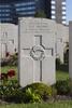 Headstone of Rifleman Norman Percival Brown (12122). White House Cemetery, Ieper, West-Vlaanderen, Belgium. New Zealand War Graves Trust (BEET1556). CC BY-NC-ND 4.0.