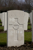 Headstone of Private Eric Douglas Alexander (10/3824). Hooge Crater Cemetery, Ieper, West-Vlaanderen, Belgium. New Zealand War Graves Trust (BEBS6711). CC BY-NC-ND 4.0.