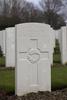 Headstone of Private John Alexander Barclay (43587). Hooge Crater Cemetery, Ieper, West-Vlaanderen, Belgium. New Zealand War Graves Trust (BEBS6730). CC BY-NC-ND 4.0.