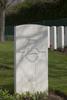 Headstone of Private William Coates Clarkson (57478). Hooge Crater Cemetery, Ieper, West-Vlaanderen, Belgium. New Zealand War Graves Trust (BEBS6824). CC BY-NC-ND 4.0.