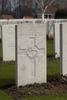 Headstone of Private John Harris (46714). Hooge Crater Cemetery, Ieper, West-Vlaanderen, Belgium. New Zealand War Graves Trust (BEBS6756). CC BY-NC-ND 4.0.