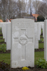 Headstone of Private William James Martin (13950). Hooge Crater Cemetery, Ieper, West-Vlaanderen, Belgium. New Zealand War Graves Trust (BEBS6702). CC BY-NC-ND 4.0.