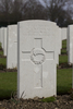 Headstone of Private William Stephens Nicholas (43584). Hooge Crater Cemetery, Ieper, West-Vlaanderen, Belgium. New Zealand War Graves Trust (BEBS6732). CC BY-NC-ND 4.0.