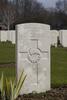 Headstone of Lance Corporal William Huson Pay (9/1717). Hooge Crater Cemetery, Ieper, West-Vlaanderen, Belgium. New Zealand War Graves Trust (BEBS6724). CC BY-NC-ND 4.0.