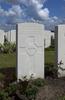 Headstone of Rifleman Joseph Albert Stenning (41116). Passchendaele New British Cemetery, Zonnebeke, West-Vlaanderen, Belgium. New Zealand War Graves Trust (BEDF9076). CC BY-NC-ND 4.0.