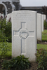 Headstone of Private John Jennings Crompton (6/4017). Tyne Cot Cemetery, Zonnebeke, West-Vlaanderen, Belgium. New Zealand War Graves Trust (BEEG2006). CC BY-NC-ND 4.0.
