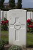 Headstone of Second Lieutenant Herbert Albert Edwin Milnes (22525). Tyne Cot Cemetery, Zonnebeke, West-Vlaanderen, Belgium. New Zealand War Graves Trust (BEEG1791). CC BY-NC-ND 4.0.