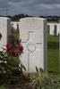 Headstone of Private John Thomas Oxnam (44146). Tyne Cot Cemetery, Zonnebeke, West-Vlaanderen, Belgium. New Zealand War Graves Trust (BEEG2123). CC BY-NC-ND 4.0.