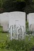 Headstone of Pilot Officer Thomas Andrew Robson (414893). Heverlee War Cemetery, Leuven, Vlaams-Brabant, Belgium. New Zealand War Graves Trust (BEBR8285). CC BY-NC-ND 4.0.