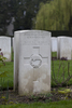 Headstone of Flight Sergeant Allan Henderson Fairmaid (424253). Brussels Town Cemetery, Evere, Belgium. New Zealand War Graves Trust (BEAO5790). CC BY-NC-ND 4.0.