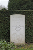 Headstone of Flight Sergeant Keith Williamson Morrison (404396). Brussels Town Cemetery, Evere, Belgium. New Zealand War Graves Trust (BEAO5788). CC BY-NC-ND 4.0.