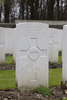 Headstone of Rifleman William Alexander Durie (31826). Buttes New British Cemetery, Polygon Wood, Zonnebeke, West-Vlaanderen, Belgium. New Zealand War Graves Trust (BEAR6349). CC BY-NC-ND 4.0.