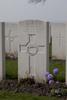 Headstone of Rifleman William Burrell Bruce (28424). Messines Ridge British Cemetery, Mesen, West-Vlaanderen, Belgium. New Zealand War Graves Trust (BECT5908). CC BY-NC-ND 4.0.