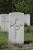 Headstone of Lance Corporal Robert Charters (35495). London Rifle Brigade Cemetery, Comines-Warneton, Hainaut, Belgium. New Zealand War Graves Trust (BECO0944). CC BY-NC-ND 4.0.