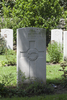 Headstone of Private Kenneth James McKenzie (36877). London Rifle Brigade Cemetery, Comines-Warneton, Hainaut, Belgium. New Zealand War Graves Trust (BECO0950). CC BY-NC-ND 4.0.