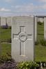 Headstone of Rifleman Charles Brand (42622). Poelcapelle British Cemetery, Langemark-Poelkapelle, West-Vlaanderen, Belgium. New Zealand War Graves Trust (BEDJ8925). CC BY-NC-ND 4.0.