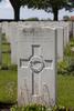 Headstone of Private David Albert Kilburn (12/3701). Poelcapelle British Cemetery, Langemark-Poelkapelle, West-Vlaanderen, Belgium. New Zealand War Graves Trust (BEDJ8940). CC BY-NC-ND 4.0.