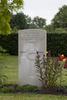 Headstone of Private George Davidson (74169). Mons (Bergen) Communal Cemetery, Hainaut, Belgium. New Zealand War Graves Trust (BECV0753). CC BY-NC-ND 4.0.
