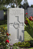 Headstone of Private Charles Martin Dale (23150). St Quentin Cabaret Military Cemetery, Heuvelland, West-Vlaanderen, Belgium. New Zealand War Graves Trust (BEEA2403). CC BY-NC-ND 4.0.