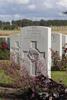 Headstone of Rifleman Anthony Lennan (26/839). St Quentin Cabaret Military Cemetery, Heuvelland, West-Vlaanderen, Belgium. New Zealand War Graves Trust (BEEA2433). CC BY-NC-ND 4.0.