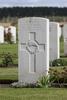 Headstone of Gunner Edgar Mercer Turner (2/3110). St Quentin Cabaret Military Cemetery, Heuvelland, West-Vlaanderen, Belgium. New Zealand War Graves Trust (BEEA2463). CC BY-NC-ND 4.0.