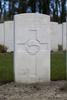 Headstone of Gunner William Nevin Bell (12712). Coxyde Military Cemetery, Koksijde, West-Vlaanderen, Belgium. New Zealand War Graves Trust (BEAX6941). CC BY-NC-ND 4.0.