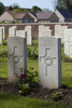 Headstone of Private Allan Holz (39534). Motor Car Corner Cemetery, Comines-Warneton, Hainaut, Belgium. New Zealand War Graves Trust (BECW8837). CC BY-NC-ND 4.0.