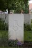 Headstone of Rifleman John Allan Robertson (39424). Belgian Battery Corner Cemetery, Ieper, Belgium. New Zealand War Graves Trust (BEAI0731). CC BY-NC-ND 4.0.