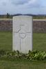 Headstone of Gunner John Brennan (11/859). Divisional Cemetery, Ieper, West-Vlaanderen, Belgium. New Zealand War Graves Trust (BEAZ1040). CC BY-NC-ND 4.0.