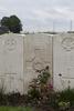 Headstone of Private George Dominic Hill (55494). Haringhe (Bandaghem) Military Cemetery, Poperinge, West-Vlaanderen, Belgium. New Zealand War Graves Trust (BEBP2195). CC BY-NC-ND 4.0.