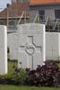 Headstone of Lance Corporal Cecil Frank Booth (21485). Voormezeele Enclosure, West Vlaanderen, Belgium. New Zealand War Graves Trust (BEEL7560). CC BY-NC-ND 4.0.