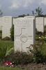 Headstone of Sergeant David Gallaher (32513). Nine Elms British Cemetery, Poperinge, West-Vlaanderen, Belgium. New Zealand War Graves Trust (BEDA9560). CC BY-NC-ND 4.0.