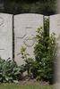 Headstone of Lance Corporal Edgar James Burn (27061). Lijssenthoek Military Cemetery, Poperinge, West-Vlaanderen, Belgium. New Zealand War Graves Trust (BECL9701). CC BY-NC-ND 4.0.