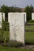 Headstone of Private George Davison (16079). The Huts Cemetery, Ieper, West-Vlaanderen, Belgium. New Zealand War Graves Trust (BEEE1372). CC BY-NC-ND 4.0.