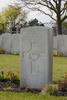 Headstone of Sergeant Dudley Dobson Coates (421318). Oostende New Communal Cemetery, Oostende, West-Vlaanderen, Belgium. New Zealand War Graves Trust (BEDC7578). CC BY-NC-ND 4.0.