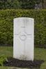 Headstone of Private Thomas Edwin Ballinger (29351). Strand Military Cemetery, Comines-Warneton, Hainaut, Belgium. New Zealand War Graves Trust (BEEB7232). CC BY-NC-ND 4.0.