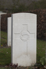 Headstone of Rifleman William Henry Busby (40504). Oxford Road Cemetery, Ieper, West-Vlaanderen, Belgium. New Zealand War Graves Trust (BEDE6146). CC BY-NC-ND 4.0.