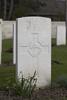 Headstone of Lance Corporal Charles Gomer Jenkins (40149). Oxford Road Cemetery, Ieper, West-Vlaanderen, Belgium. New Zealand War Graves Trust (BEDE6166). CC BY-NC-ND 4.0.