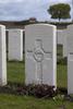 Headstone of Lance Corporal Leslie Arthur Morris (12/3430). Mud Corner Cemetery, Comines-Warneton, Hainaut, Belgium. New Zealand War Graves Trust (BECX7737). CC BY-NC-ND 4.0.