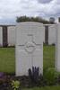 Headstone of Second Lieutenant George Alexander Robbie (24/1306). Mud Corner Cemetery, Comines-Warneton, Hainaut, Belgium. New Zealand War Graves Trust (BECX7773). CC BY-NC-ND 4.0.