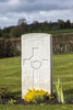 Headstone of Rifleman John Angus McLeod (41347). Prowse Point Military Cemetery, Commines-Warneton, Hainaut, Belgium. New Zealand War Graves Trust (BEDN7646). CC BY-NC-ND 4.0.