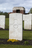 Headstone of Private Archibald Noble (38435). Prowse Point Military Cemetery, Commines-Warneton, Hainaut, Belgium. New Zealand War Graves Trust (BEDN7663). CC BY-NC-ND 4.0.
