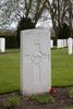 Headstone of Lance Corporal Edward Angel (16/583). Prowse Point Military Cemetery, Commines-Warneton, Hainaut, Belgium. New Zealand War Graves Trust (BEDP5839). CC BY-NC-ND 4.0.