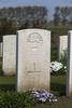 Headstone of Second Lieutenant Allan Richards Bailey . Klein-Vierstraat British Cemetery, Heuvelland, West-Vlaanderen, Belgium. New Zealand War Graves Trust (BEBZ9633). CC BY-NC-ND 4.0.