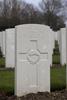 Headstone of Private John Alexander Barclay (43587). Hooge Crater Cemetery, Ieper, West-Vlaanderen, Belgium. New Zealand War Graves Trust (BEBS6731). CC BY-NC-ND 4.0.