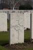 Headstone of Private John Harris (46714). Hooge Crater Cemetery, Ieper, West-Vlaanderen, Belgium. New Zealand War Graves Trust (BEBS6757). CC BY-NC-ND 4.0.