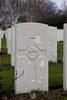Headstone of Private Magnus Jamieson (49408). Hooge Crater Cemetery, Ieper, West-Vlaanderen, Belgium. New Zealand War Graves Trust (BEBS6749). CC BY-NC-ND 4.0.