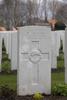 Headstone of Private William James Martin (13950). Hooge Crater Cemetery, Ieper, West-Vlaanderen, Belgium. New Zealand War Graves Trust (BEBS6703). CC BY-NC-ND 4.0.
